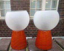 2x Lámparas de MESA nachtischlampe madera lámpara para leer CASA CAMPO Al. :