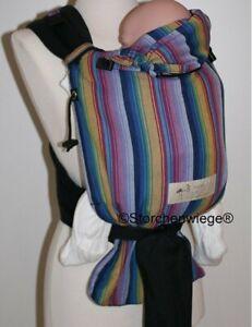 Storchenwiege Half Buckle Baby Carrier - Inka