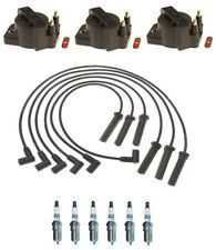 Ignition Wires 3 Coils 6 Spark Plugs Kit ACDelco For Buick Oldsmobile Pontiav V6