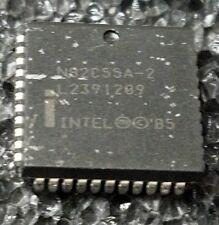 Intel  N82C55A-2  in PLCC 44 pkg PLCC N82C55A RARE PIA device cpu addon