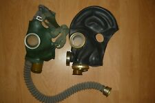 Set 2pcs. USSR gas mask GP-4y+ black PMG-2 size 0,1,2.3