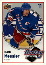 2009-10 Upper Deck Hockey Heroes Mark Messier #HH26 Mark Messier Rangers