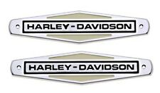 Original Harley-Davidson H-D TANK EMBLEM KIT Kleber *61771-66TB SET*