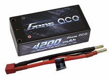 Gens Ace 2S 4200mAh 7.4V 60C/120C Lipo Shorty HardCase Racing RC ROAR Deans