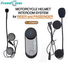 FDC Interfono Microfono Auricolari Bluetooth 1200mt Casco Moto sci doppio sens