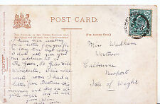 Genealogy Postcard - Family History - Wadham - Newport - Isle of Wight   Y958