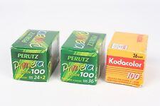 Perutz Primera color 100 + Kodak Kodcolor 100 EXPIRED film