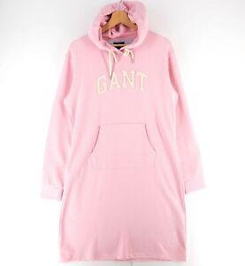 GANT Pink Arch Hoodie Dress Size L