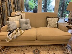Two 2.5 Seater Moran French Style Sofas