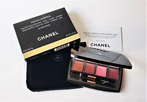 CHANEL Aqualumieres Multi-Effect Palette: Eyes - Cheeks - Lips 34 EXALTATION