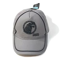 Game of Thrones House Stark Cap Hat NWT Officially Licensed Embroider Wolf Blue