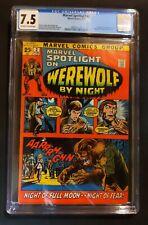 Marvel Spotlight #2 CGC 7.5 1972 1st App and Origin Werewolf by Night