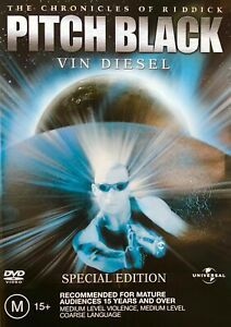 Ff4 Brand New Sealed The Chronicles of Riddick: Pitch Black DVD R4