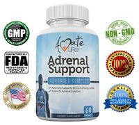 Adrenal Support Advanced Complex - Stress Relief Supplement- Cortisol Manager