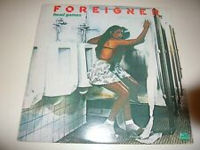 Foreigner Head Games Lp Vinyl Record Album Dirty White Boy Rev On Red Line Women