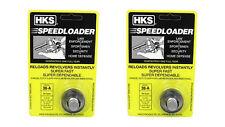 2pack HKS 36A Speedloader for 38 Special 357 Magnum 5 Round Cylinder S&W J Frame