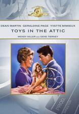 Toys in the Attic 1963 (DVD) Dean Martin, Geraldine Page, Gene Tierney - New!