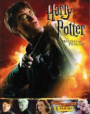 Italy 2009 Panini Harry Potter Misterio del Principe Album Sticker Empty