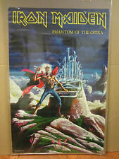 IRON MAIDEN Phantom of the opera rock n roll 1986 original Poster 2492