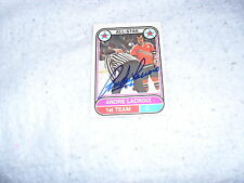1975-76 SIGNED ANDRE LACROIX O PEE CHEE CARD SAN DIEGO MARINERS ALL STAR WHA COA