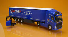 "Herpa 308465 Volvo FH GL. las cortinas programar-SZ con apilador ""Reinert logistic"""