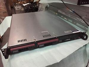 """Supermicro 1U Server e3-1220V3 3.1ghz 16gb X10SLL-F 2x 1TB SATA 3.5"""" HDD DVD-RW"""
