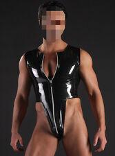571 Latex Rubber Gummi Male Swimsuit Leotard high cut customized catsuit 0.7mm