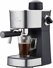 Cappuccino Lattes Espresso Hot Drinks Coffee Machine with Milk Frother Steamer