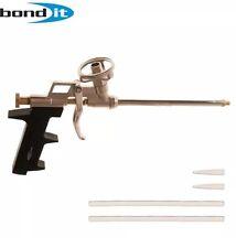 Professional PU Expanding Foam Gun Grade Applicator All Metal Body Chrome Plated