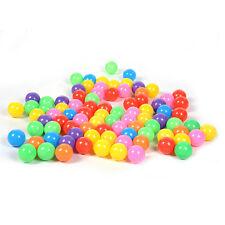 50Pcs Colorful Ball Ocean Ball Soft Plastic Ocean Ball Baby Kid Swim Pit Toy NEW