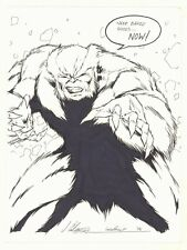 Sabretooth Commission - 2006 Signed art by Jim Calafiore