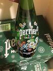 🌼Takashi Murakami Flower Collab Perrier Gls Bottle 750 USA Seller In Hand🌼