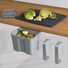 Ninka BIOBOY colgar-en comida basura con tapa 4.2 litros de fácil limpieza