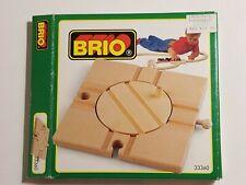 Vintage BRIO Roundabout Bridge - 1990 / CIB / NO. 33360 / RARE