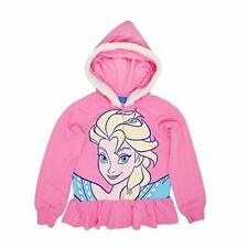 Disney Frozen Elsa Costume Fur Lined Hoodie Jacket Size Extra Small XS