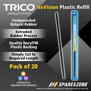 Trico Nuvision Plastic Refills for Nissan Cabstar Atlas E20 Van EXA Gazelle