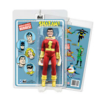 DC Comics Shazam [Blue Card] 8 inch Action Figure on Retro Card