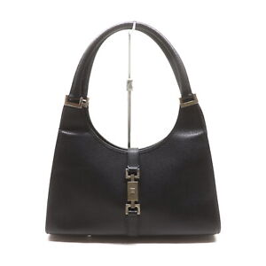 Gucci Hand Bag  Black Leather 1521662