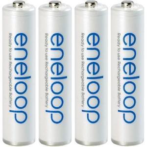 Panasonic eneloop Akkus AA 2000 mAh / AAA 800 mAh Mignon Micro Accus Batterien
