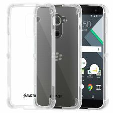 Amzer Pudding TPU X Edge Protection Skin Fit Case For BlackBerry DTEK60 - Clear
