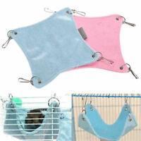 Pet House Hamster Rat Parrot Ferret Hamster Hammock Hanging Bed Cushion Cage