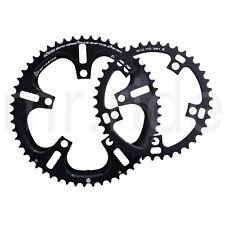 DRIVELINE Chainring Road Bike 53//52//50//39//36//34T 7075//T6 BCD 110MM Black,11Speed