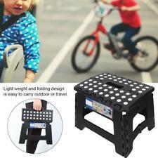 300lb Folding Portable Bathroom Car Non-Slip Outdoor Adult Kids Elder Step Stool