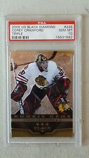 2005-06 Corey Crawford UD BLACK DIAMOND RC 225 PSA 10 GEM MINT
