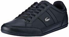Lacoste Chaymon BL 1 Black Black Leather Mens Trainers