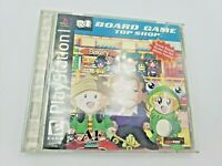 Board Game Top Shop (Sony PlayStation 1, 2001) Free Shipping