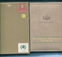 1988 Australia Proof Coin Set Folder inc Box & Certificate Coin Fair Issue Q-338