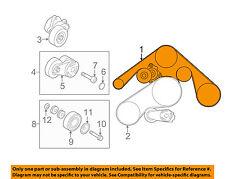 Infiniti NISSAN OEM 10-13 FX50-Serpentine Drive Fan Belt 117201CA1C