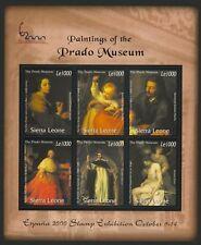 Sierra Leone 2339-44 MNH Art, Paintings of the Prado Museum