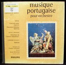 Musique portugaise Portugaliae musica vol 2 Renato Ruotolo LP NM/M, CV EX